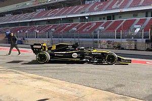 Ricciardo maakt eerste meters voor Renault tijdens shakedown