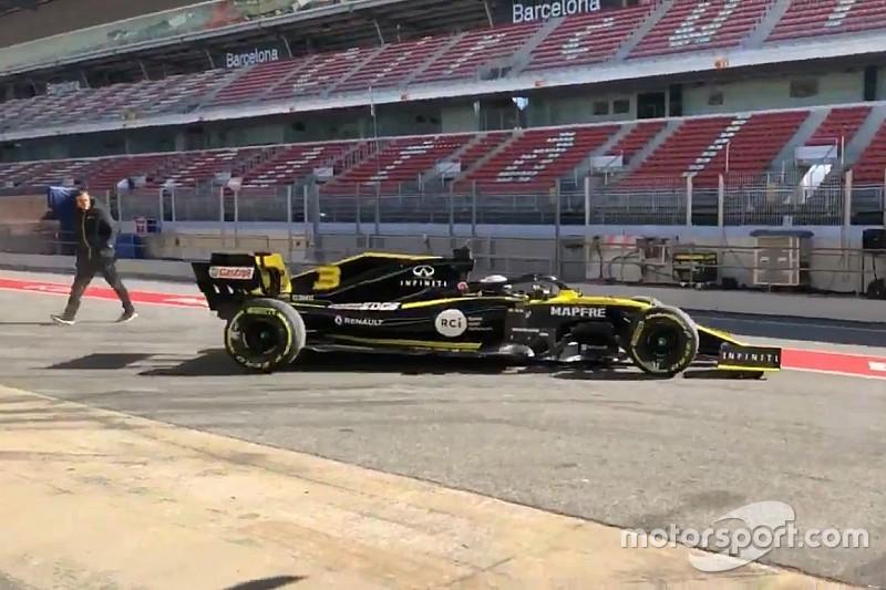 Renault, 2019 aracını Barcelona'da piste çıkardı!