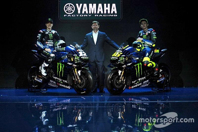 Yamaha presenta la M1 2019: la nuova arma di Rossi e Vinales è neroazzurra!