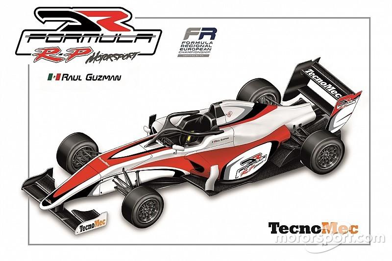 Raul Guzman in Formula Regional con DR Formula by RP Motorsport