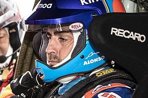 """Alonso: Kum tepelerine ilk kez tırmanmak """"şoke edici"""""""