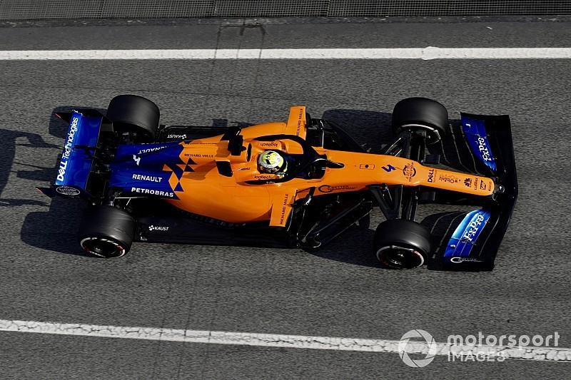 "Norris: ""Completely different"" 2019 McLaren still has flaws"