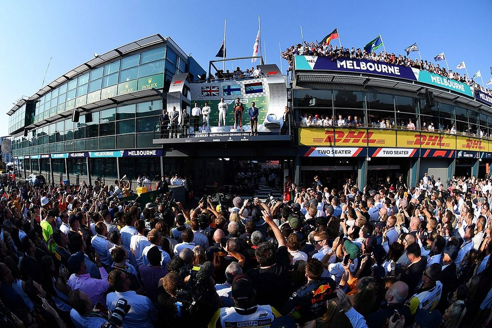 """""""Not a chance"""" of Australian GP without spectators"""