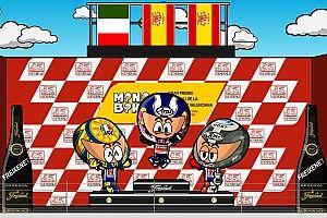 Vídeo: el histórico GP de Valencia de 2009, por MiniBikers