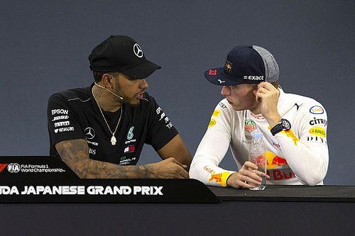 """Quand Hamilton explique à Verstappen qu'il avait """"tout à perdre"""""""