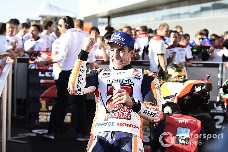 "Marquez: This year ""much less stressful"" than 2017"