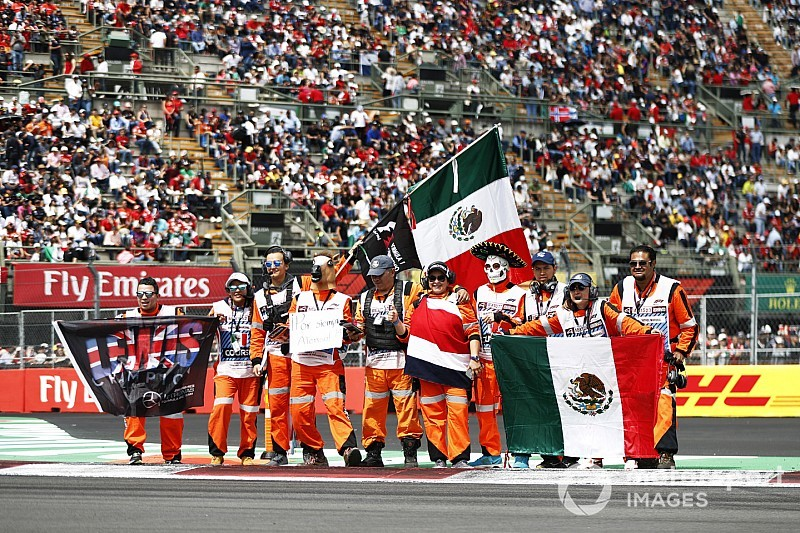 El semáforo del GP de México 2018 de F1