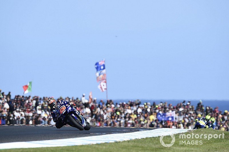 "Rossi: Vinales win ""doesn't change much"" for Yamaha"