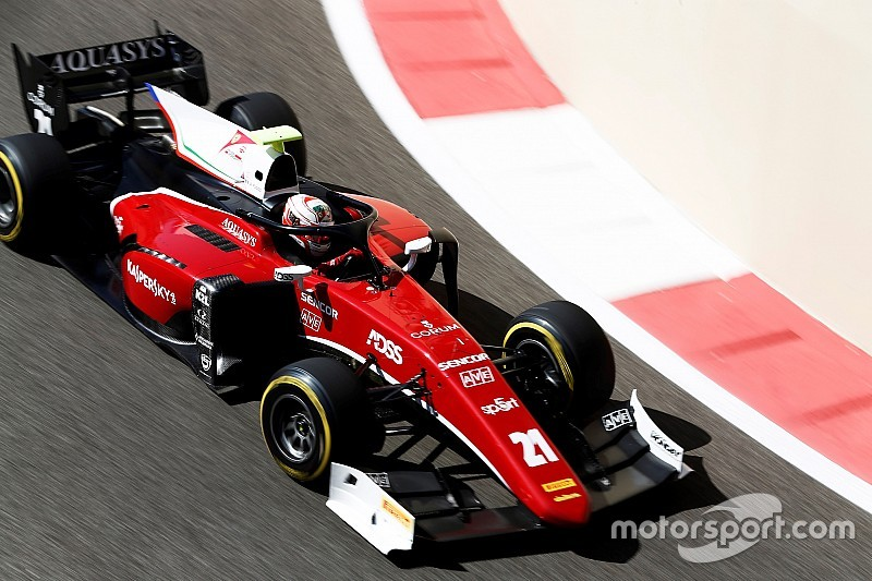 Abu Dhabi F2: Fuoco wins, Norris jumps Albon in points