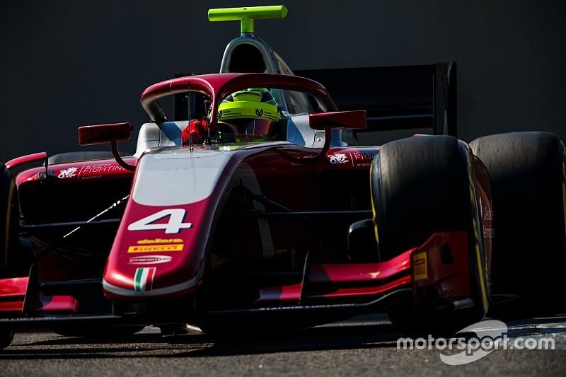 Schumacher, ilk F2 testinden mutlu ayrıldı