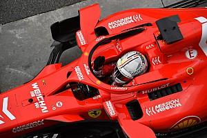 Vettel quebró el sistema de balanza de pesaje de la FIA