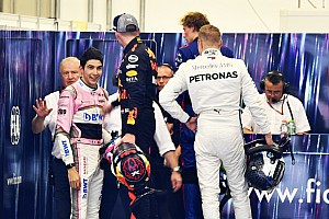 Verstappen claims Ocon's reaction triggered his shoves