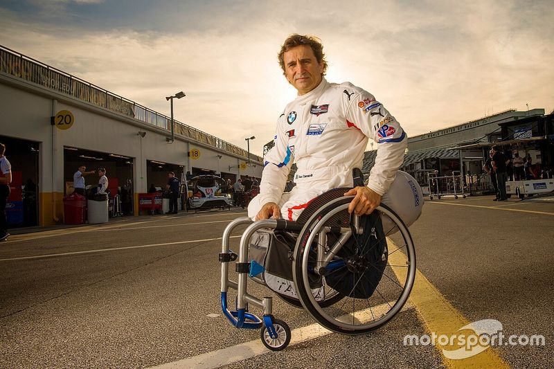 """Zanardi: The man whose name is a synonym for """"hero"""""""