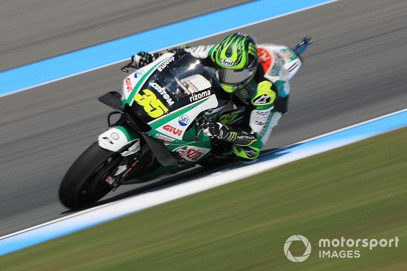 """Crutchlow """"destroyed"""" rear tyre by riding """"wrong"""""""