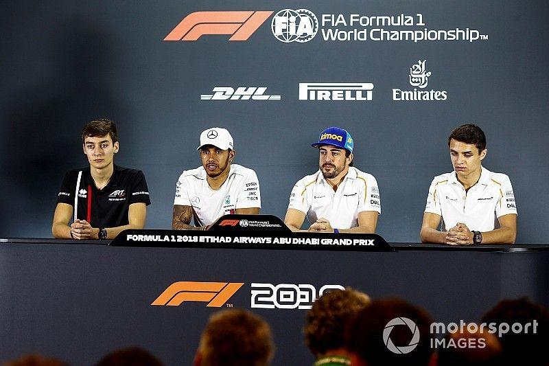 """Stewart: """"Hamilton está pilotando muy bien, pero ha tenido suerte en su carrera"""""""