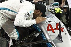 Hamilton se lleva la última pole del año en Abu Dhabi