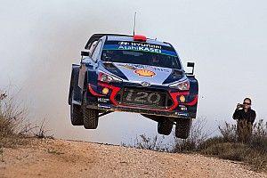 Tanak pincha y Sordo es líder del Rally de España