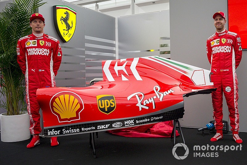 Ferrari unveils new F1 livery ahead of the Japanese GP