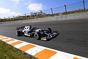 F1オランダFP1速報:赤旗で最後はアタック合戦に。ハミルトン首位、角田裕毅はノータイム
