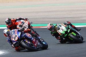 Navarra WSBK: Razgatlioglu wins to tie Rea on points