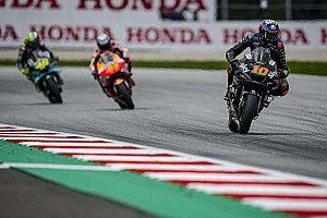Luca Marini fier d'avoir pris la décision de rester en pneus slicks