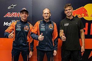 Resmi: KTM Ajo Moto2 Sandingkan Pedro Acosta-Augusto Fernandez