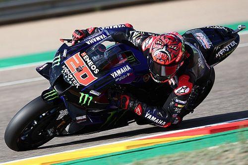 """Quartararo """"doesn't have pace"""" for Aragon MotoGP podium"""