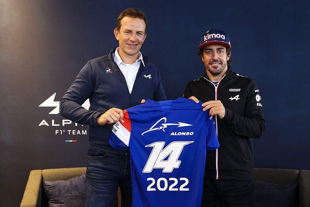 Alpine Resmi Perbarui Kontrak Fernando Alonso untuk F1 2022