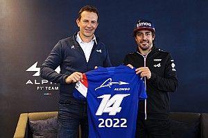 Alpine确认阿隆索2022年留在车队