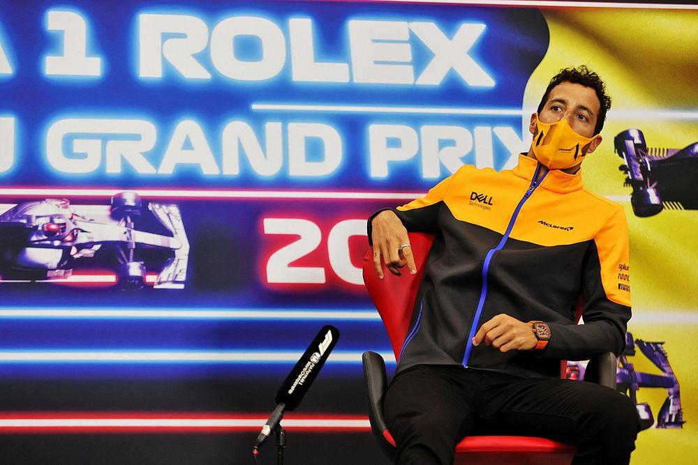 Ricciardo: Örültem a negyedik helyemnek, aztán megtudtam, hogy Russell a második!
