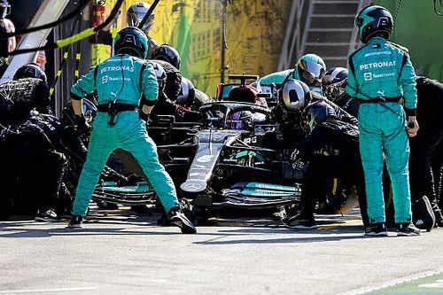 """Mercedes reconnait son erreur: """"Le timing n'était pas bon"""""""