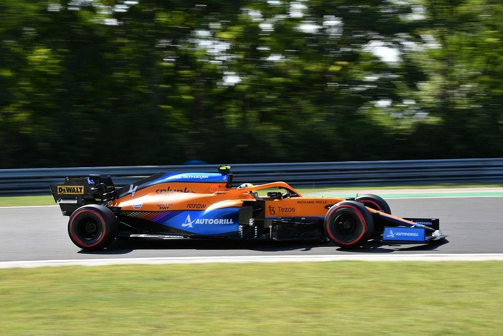 McLaren victime des fortes chaleurs du Hungaroring