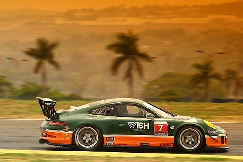 Porsche GT3 Cup: Salles voa e é o pole position de sábado em Goiânia