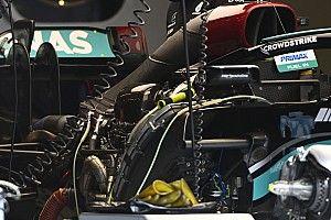 Mercedes explica por qué no cambió todo el motor de Hamilton