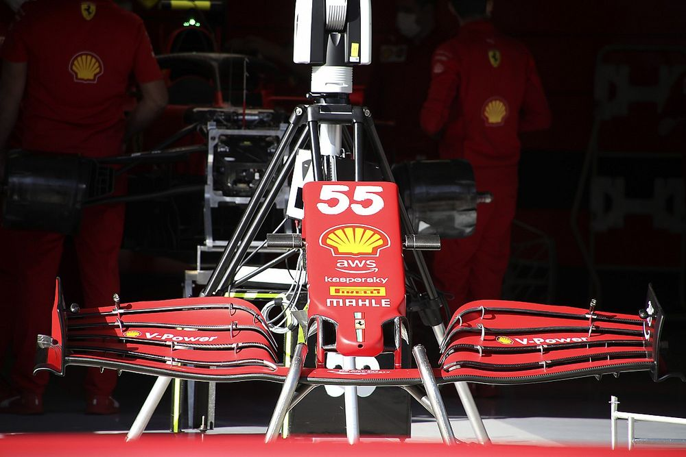Test dla kierowcy Ferrari