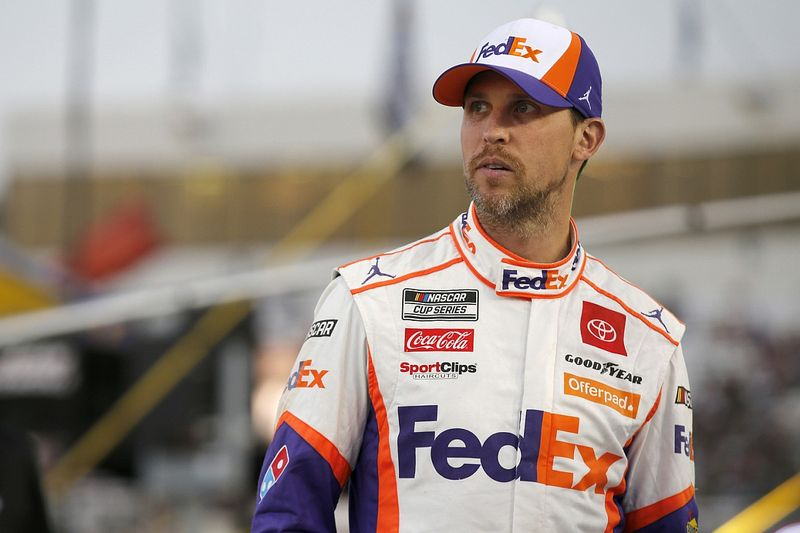 Hamlin advances in NASCAR playoffs with timely Vegas Cup win