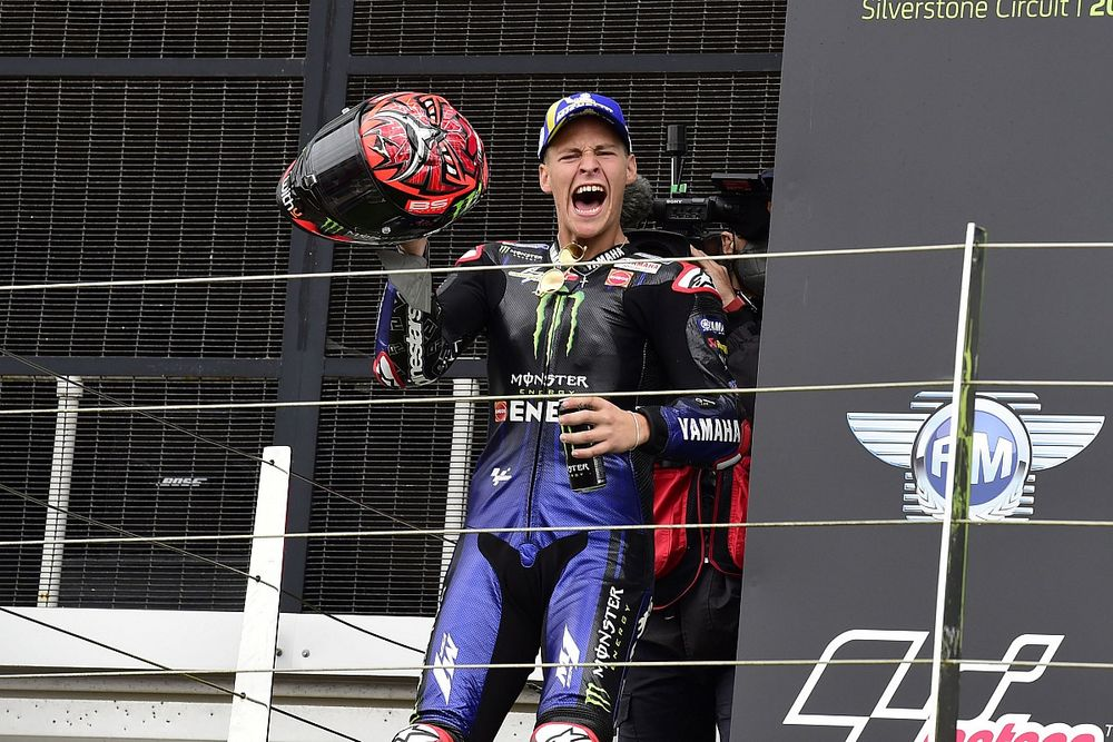 """Quartararo """"doesn't want to think about"""" 2021 MotoGP title anymore"""