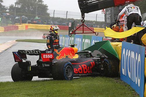 La FIA dejó participar a Pérez en el GP de Bélgica, pese al accidente