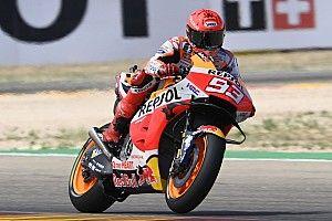Hasil FP4 MotoGP Aragon: Marc Marquez Solid sejak Awal Sesi