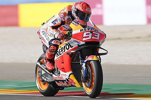 Aragon MotoGP: Marquez tops FP1 by a second, Vinales returns