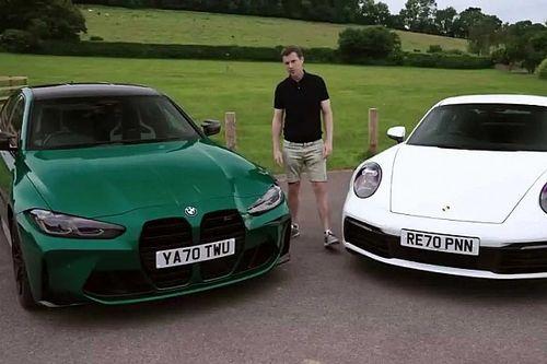 Videó: A belépőszintű Porsche Carrera vagy a BMW M3 Competition a jobb sportkocsi?