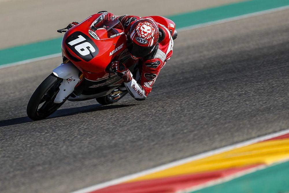Hasil FP2 CEV Moto3 Jerez: Moreira Tercepat, Mario Aji Impresif