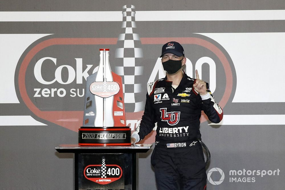 William Byron lands two-year contract extension with HMS