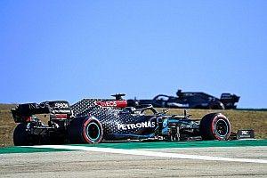 """Hamilton explains """"counter-intuitive"""" medium tyre choice"""