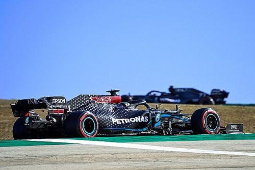 Hamilton explica la extraña estrategia ganadora en Portugal
