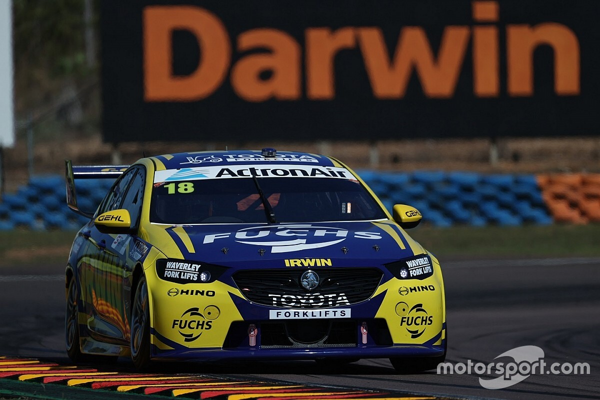 Winterbottom cleared for van Gisbergen contact