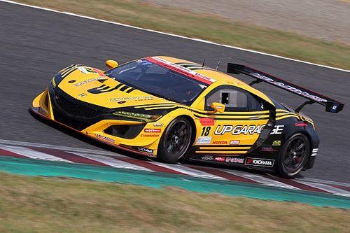 NSX GT3で初の表彰台、18号車UPGARAGEの小林崇志「チーム全員で勝ち取った2位」