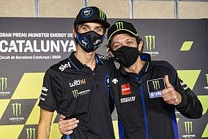 """Rossi en MotoGP avec Marini: """"Ça fait 2 ans qu'il me dit de l'attendre"""""""