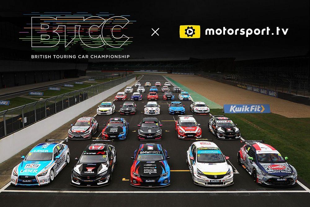 BTCC lanceert eigen kanaal op Motorsport.tv