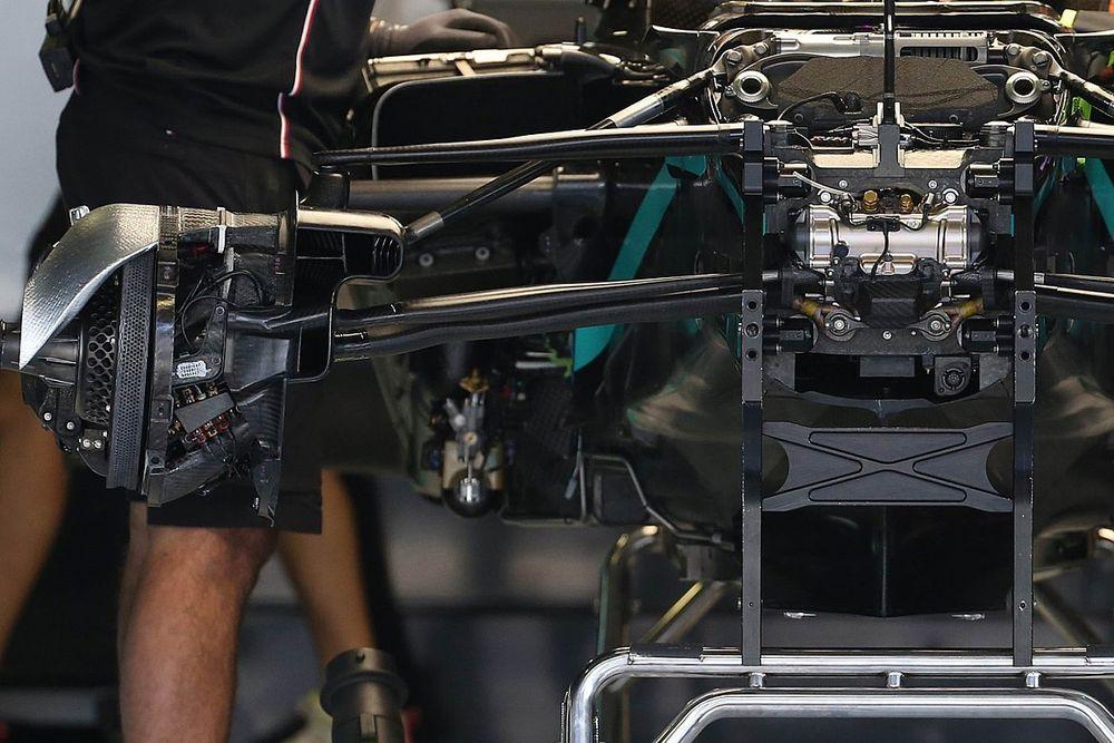 Mercedes: la W11è già senza il DAS in vista del divieto 2021